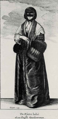 Венцель Холлар. Знатная англичанка в зимнем платье