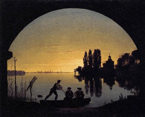 Карл-Фридрих Шинкель. Берега реки