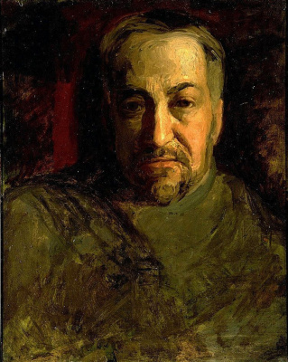 Томас Икинс. Автопортрет