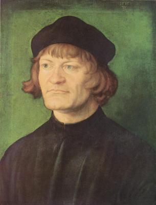 Albrecht Durer. Portrait of a priest