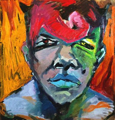 Anton Evdokimow. Self-portrait 2012