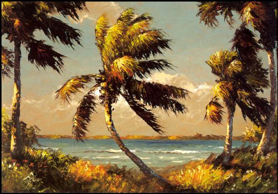 Гарольд Ньютон. Тропический пейзаж 58