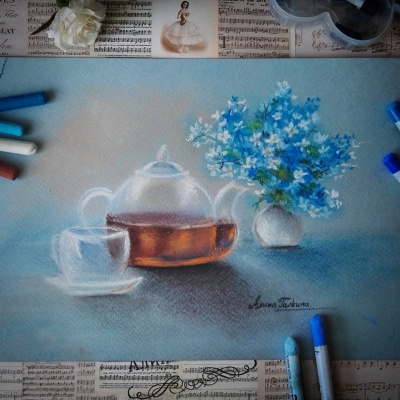 Алина Евгеньевна Галкина. Kettle, tea and mood