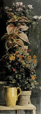 Мария Константиновна Башкирцева. Капуцины, колеус и рододендроны