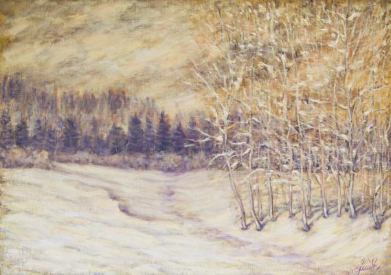 Valery Levchenko. No. 257 Snowstorm