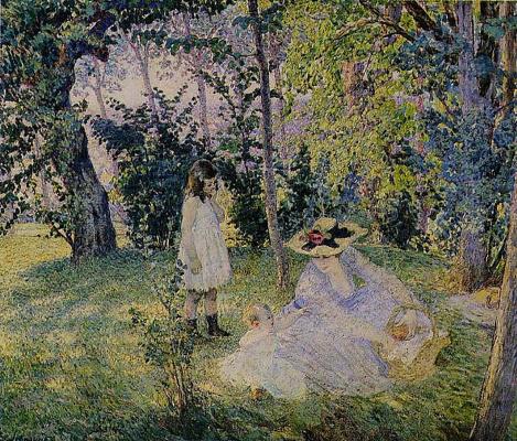 Анри Лебаск. Пикник в лесу