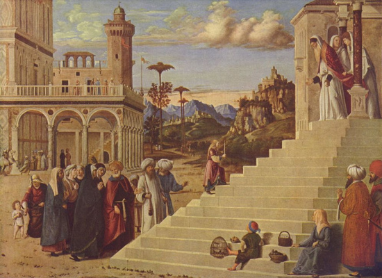 Giovanni Battista Cima da Conegliano. Introduction to the temple