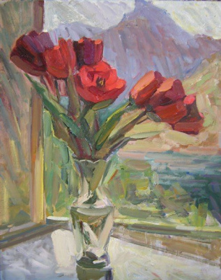 Ксения Хидаева. Тюльпаны