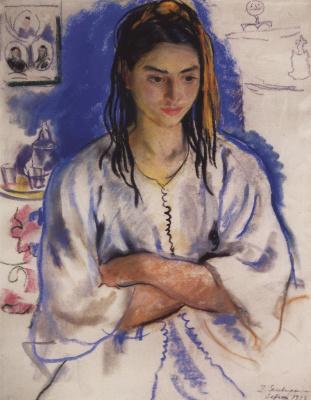 Zinaida Serebryakova. The Jewish girl from Sefrou