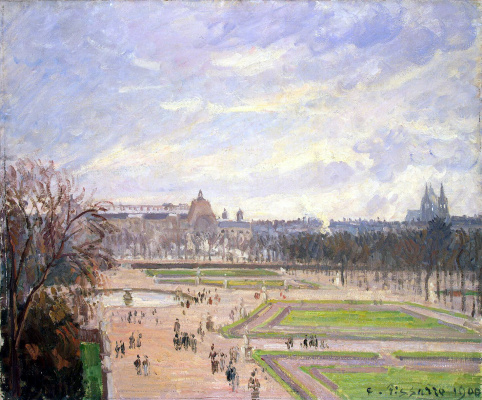 Camille Pissarro. The Tuileries Garden