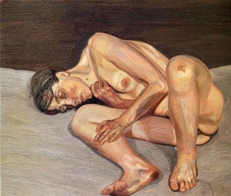 Lucien Freud. Little nude portrait