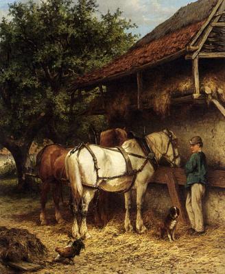 Вальтер Версхюр. Две лошади
