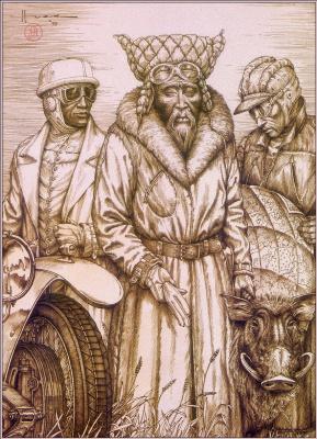 Джадсон Гус. Монгол