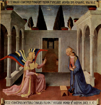 Fra Beato Angelico. Scenes from the life of Christ: the Annunciation
