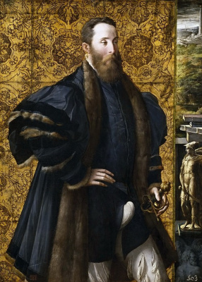 Francesco Parmigianino. Pietro Maria Rossi, count of San Secondo