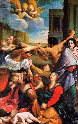 Guido Reni. The massacre of the innocents