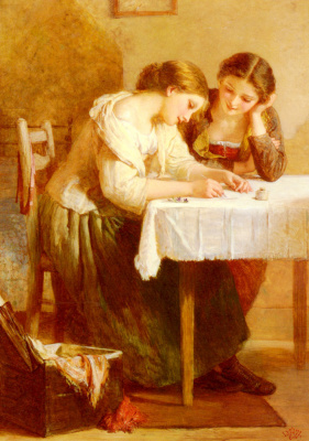 Генри Лежен. Любовное письмо