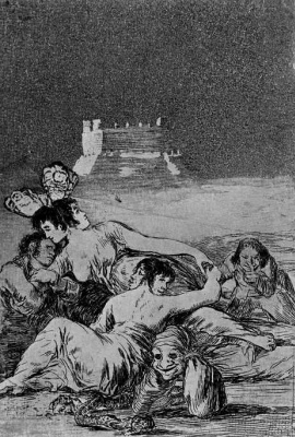 Francisco Goya. Dream of lies and inconstancy