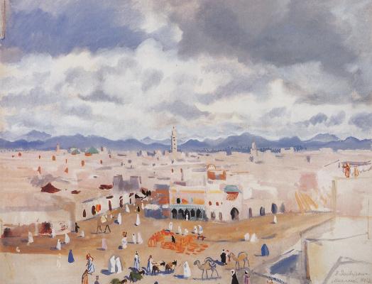 Zinaida Serebryakova. Morocco. Marrakech