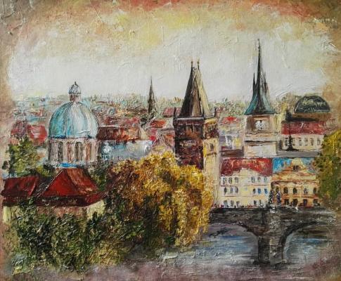 Алина Евгеньевна Шварёва (Галкина). Prague