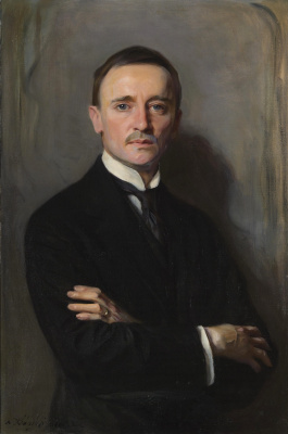 Philip De Alixis Laszlo. Portrait of William Richards Castle the Younger. 1921