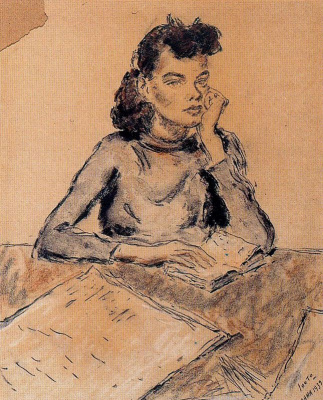 Arturo Souto. Thoughtful girl