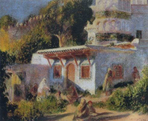 Pierre Auguste Renoir. Mosque in Algeria