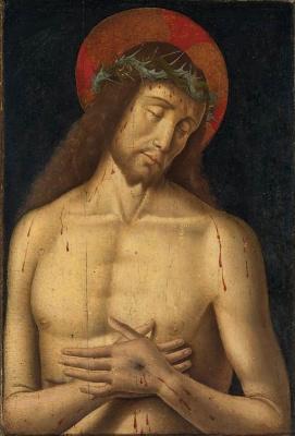 Джованни Санти. Христос или Муж Скорбей