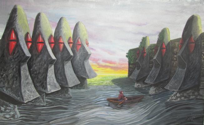 Фёдор Михайлович Буравлёв. Bay of silence