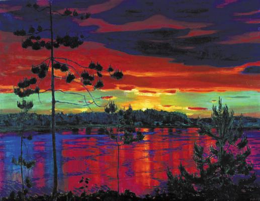 Arkady Alexandrovich Rylov. Sunset