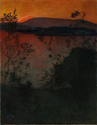 Harald Oskar Sohlberg. Evening light