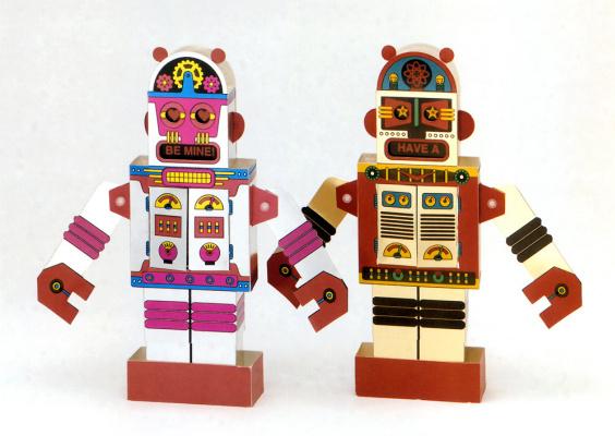 Стив Марк. Роботы