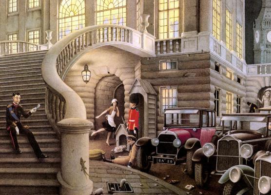 Роберто Инноченти. Лестница