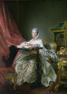 Франсуа Юбер Друэ. Мадам де Помпадур