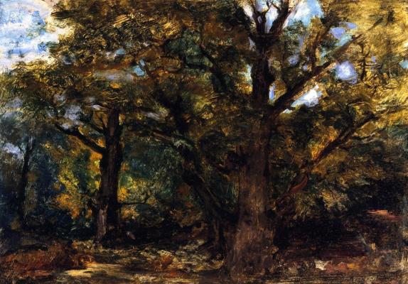 Эжен Делакруа. Лес возле Сейнарта