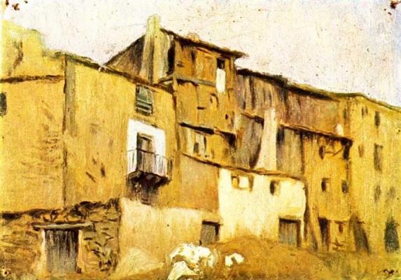 Пабло Пикассо. Дома в Хорта-де-Эбро