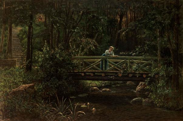 Alexander Nikonorovich Novoskoltsev. Young dreams. 1906