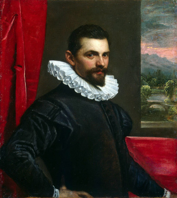 Tintoretto (Domenico Robusti). Portrait of a man
