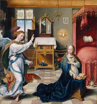 Jos van Kleve. The Annunciation