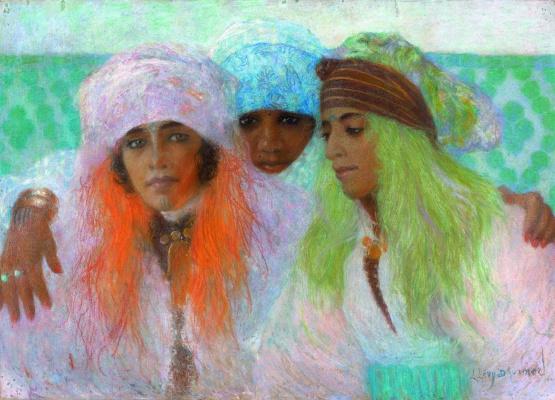 Lucien Levi-Durme. Beauties Marrokesh. 1930