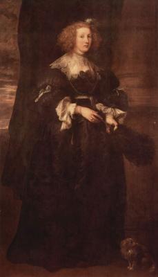 Антонис ван Дейк. Портрет Мари де Ро