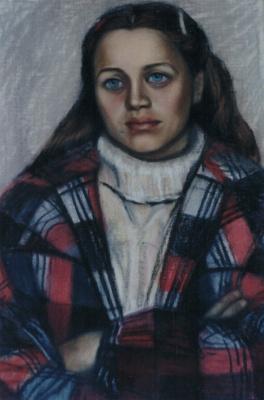 Galina Petrovna Khmelevskaya. Student Biofaka MSU