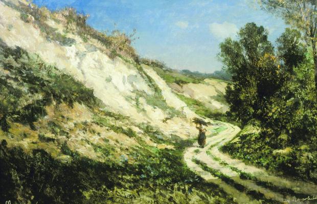 Alexey Petrovich Bogolyubov. Sandy cliff