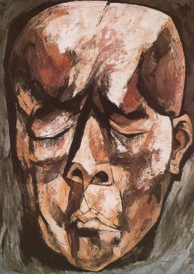 Освальдо Гуаясамин. Портрет 24