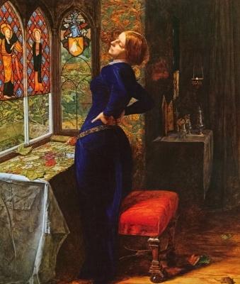 Мэриэн в башне