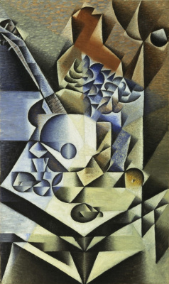 Хуан Грис. Натюрморт с цветами