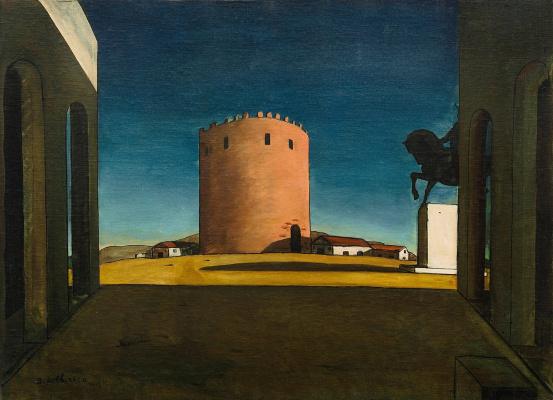 Джорджо де Кирико. Красная башня