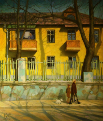 "Irina Bogdanova. ""Yellow House"""