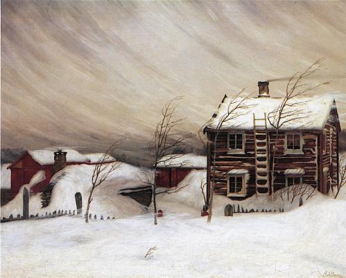 Harald Oskar Sohlberg. Snow