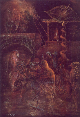 Leonora Carrington. Jacob's Ladder